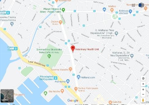 κτηνιατρική κλινική google maps